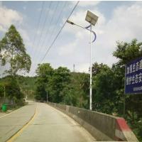 供应好恒照明HAH-TYNLD-30高光效乡村太阳能路灯价格 路灯头 6米30瓦挑臂路灯