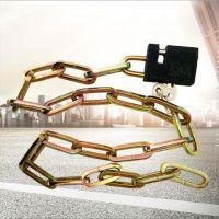 自产自销优质铁链条锁方150防盗锁多用途链条锁铁链锁欢迎选购