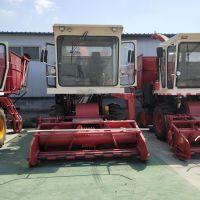 大型青储机厂家直销自走式牧草粉碎收获机 自卸式秸秆青储机