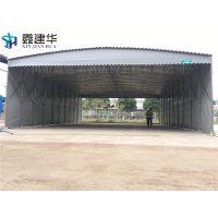 安庆夜市排挡蓬移动推拉雨棚布 户外移动伸缩帐篷工地厂蓬 家用车棚质量保证