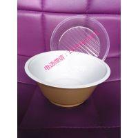 厂家直销一次性双层塑料碗 1000ml牛肉面/米线打包碗