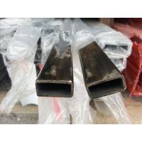 佛山钢厂现货不锈钢镜面矩形管管、装饰专用201不锈钢扁管