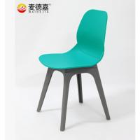 来宾快餐桌椅定做,简约休闲会议椅培训椅快餐店小吃店塑料四字脚餐