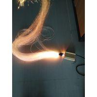 三芯水帘光纤,0.75mm外径3.8mm导光光纤,酒店大堂装修