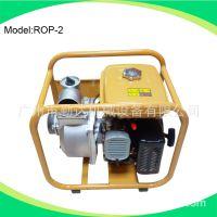 广州厂家直销 2寸罗宾汽油污水泵 油污泵大流量水泵