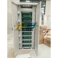 576芯直插盘ODF光纤配线柜图片指导