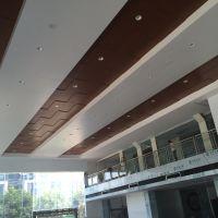 广汽本田4s店展厅吊顶跌级效果天花铝单板厂家供应