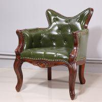 麦德嘉MDJ-ZTY18单人沙发椅子漫咖啡同款休闲单人沙发椅主题餐厅西餐厅桌椅
