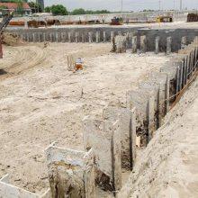 云南昆明专业SMW工法桩施工、SMW工法桩型钢租赁、昆明三轴工法桩