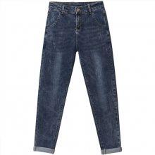 东莞厂家供应夏季杂款女装牛仔裤批发便宜尾货女式小脚裤批发