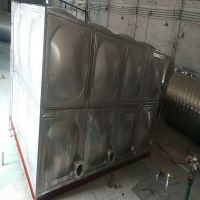 广东鸿泉供应珠海热水工程不锈钢组合式拼装保温水箱 小区生活储水消防水箱定制 供水设备