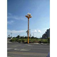 广元9米玉兰灯 兰花灯 组合型玉兰灯 优质异形灯