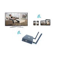 鑫源视X7 5G无线同屏器外置天线加IR遥控器HDMI VGA投影仪商务会议、培训演示