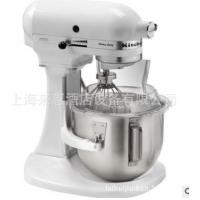美国KitchenAid厨宝专业搅拌机、鲜奶打蛋机5K45SSWH(抬头式)