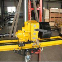 中国山东省月底促销ZYJ-400/210架柱式液压回转钻机生产回转式钻机