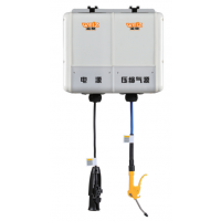组合式汽车清洗卷管器、WEIZ水电气组合卷管器