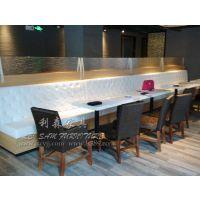 华侨城简约大理石餐桌 快餐厅桌子 茶餐厅桌子 厂家直销 定做
