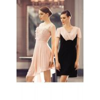 姿托丽 深圳品牌女装尾货货源 中年大码连衣裙 春季新款打底上衣长袖