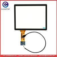 12.1寸4:3电容触摸屏USB接口工厂订制外贸高品质工控医疗车载平板