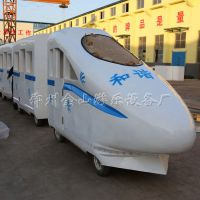 和谐号高铁小火车-金山游乐设备