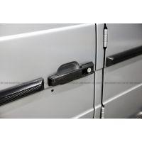新款奔驰G55保险杠改装G500加装碳纤维门拉手W463宽体大包围碳钎维