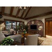 【烟台城市人家】紫金山庄275平米美式风格装修案例