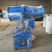施工降尘喷雾机 喷洒水雾除灰尘的雾炮机