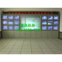 工厂直销监控室各种电视墙 拼接屏液压前维护支架 弧形拼接屏幕墙