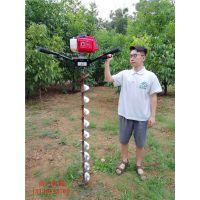 雷力手提式挖坑机专业定制管道钻孔机械设备