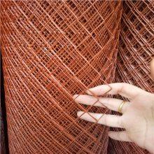 山东菱形钢板网 圈玉米网门市 浸塑护栏网价格