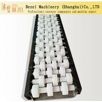 Bezel供应三排直线滚珠护栏 算盘高分子护栏 不锈钢C侧板输送设备