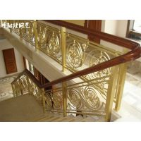 东莞楼梯铜栏杆厂家 专注铜楼梯扶手