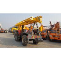 12吨拖拉机吊车新款拖拉机吊车打桩一体机低价销售