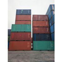 天津各种二手集装箱 海运集装箱 箱房和飞翼箱改造等