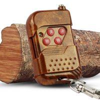 芯触发滚动码HCS301芯片桃木款推盖二至四键无线对拷贝遥控器手柄