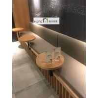 韩尔品牌 杭州H07星巴克实木桌子 星巴克椅子定做厂家