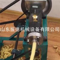 临沂自动切断香酥杂粮麻花机 振德牌 暗仓食品膨化设备 小型致富机器