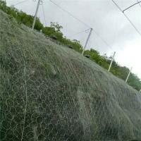 边坡环形网@镀锌钢丝绳网@爆破防护网@安首柔性防护网分类定做