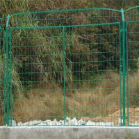 安平聚光厂家直销边框式防攀爬焊接片网@公路护栏网