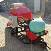储存牛羊饲料专用圆捆打捆机高效青贮秸秆圆捆打包机
