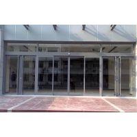 白云区维修电动玻璃感应门,感应自动门优点18027235186