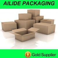 青岛艾斯得瓦楞纸箱纸盒 供应外贸出口白板纸箱黄板箱