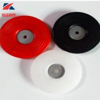 热熔垫片红色隧道防水板专用塑料热熔垫片 EVA防水板专用