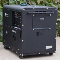DG10000SE-3贝隆7KW三相静音柴油发电机7KVA380V低噪音柴油发电机纯铜电机带轮可移动