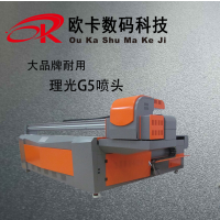 ouka理光喷头2513机型玻璃 瓷砖 板材背景墙打印机