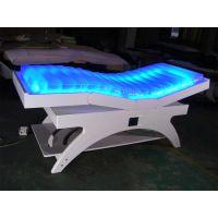 广州金匠D1307七彩LED理疗水床 电动按摩水床可来图定做
