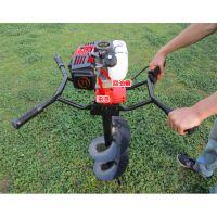 地钻机 打洞机植树种树汽油立柱手提便携式电线杆挖坑机
