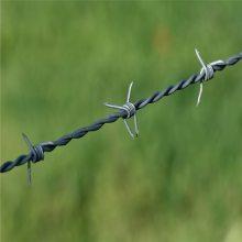 普通刺绳价格 喷塑刀片刺绳 新疆刺丝围栏