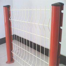 带框护栏网 码头防护网 铁网围栏价格