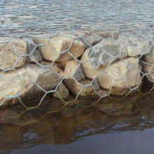 六盘水河道加固防护六角网——包塑/镀锌格宾六角石笼网一诺加工厂家